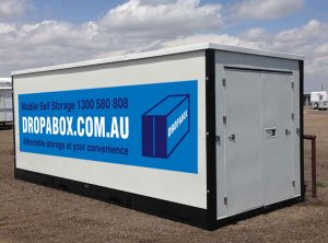 Mobile self storage Adelaide Drop a box portable on demand